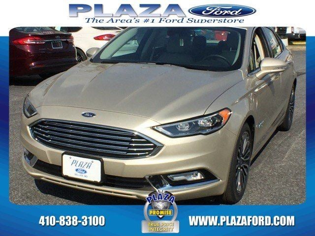 2017 Ford Fusion Energi Se Luxury In Bel Air Md Baltimore Ford