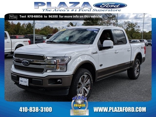 2019 Ford F 150 King Ranch Plaza Ford Specials Bel Air Md